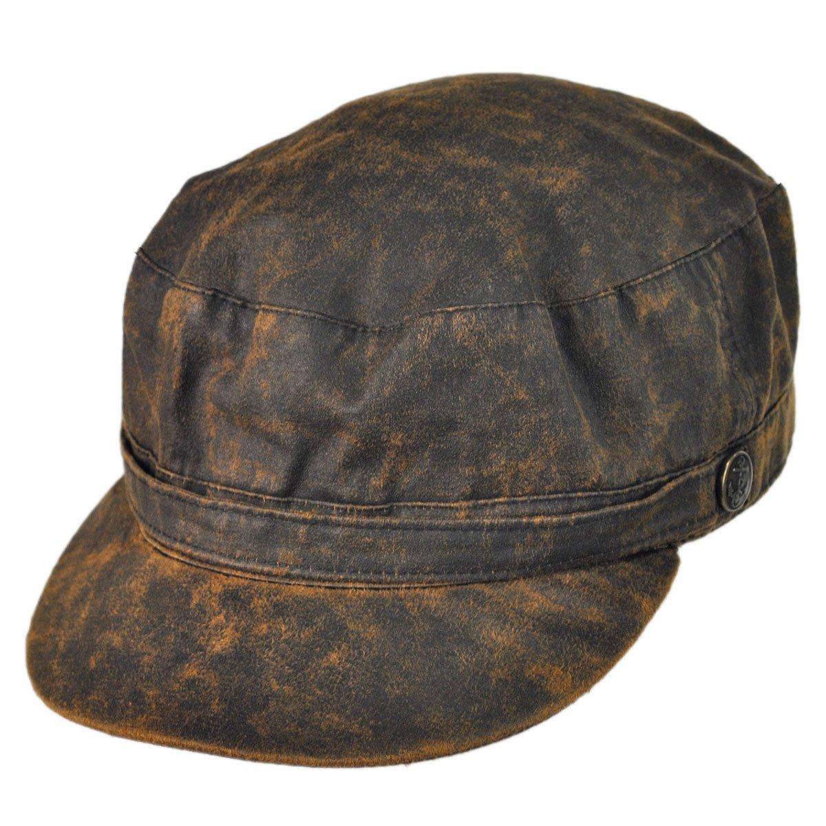 Jaxon Weathered Cotton Cadet Cap (Medium)