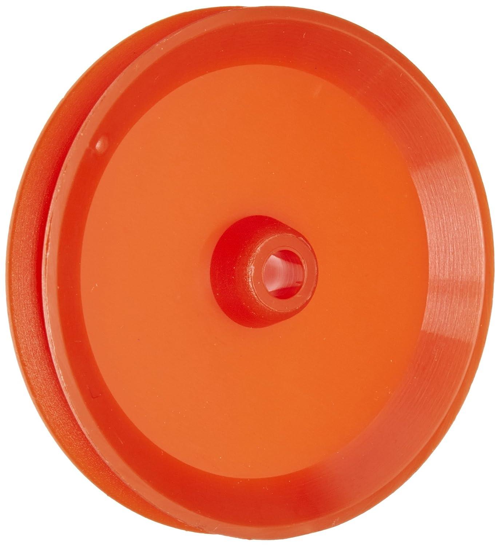 Ajax Scientific Plastic Loose Pulley, 38mm Diameter, 4mm Center Hole Diameter (Pack of 10) ME410-0038S