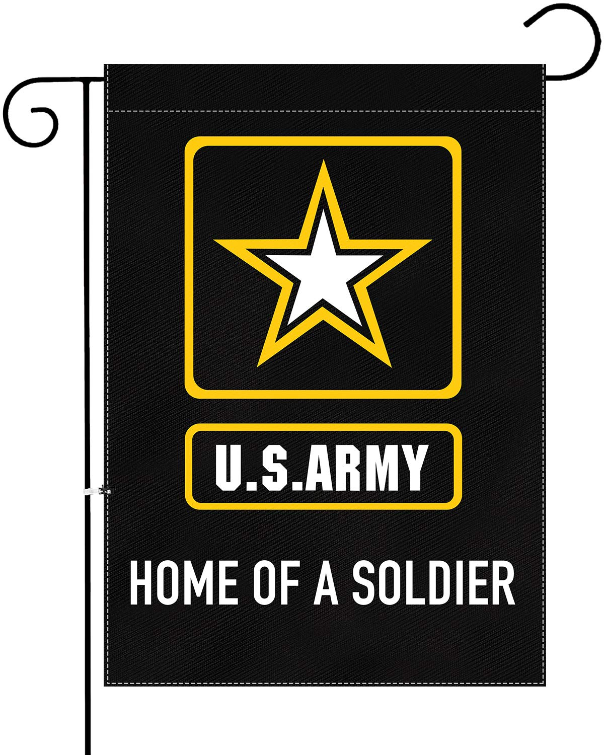 XIFAN Premium Garden Flag for US Army Home of A Soldier Double Sided Small Yard House Decoration 12.5 x 18 Inch