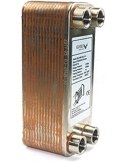 Chiller de Palabras de Cobre para Homebrew - Intercambiador de calor para calentador de agua -