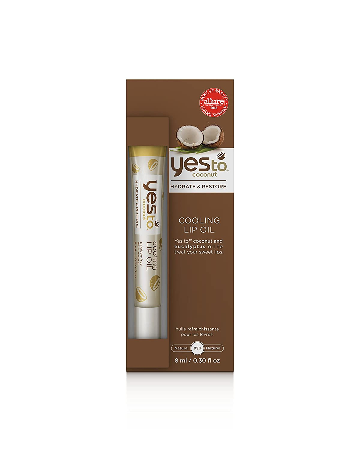 Buy Yes to Coconuts Cooling Lip Oil - 0.3 oz Online at Low Prices in India  - Amazon.in