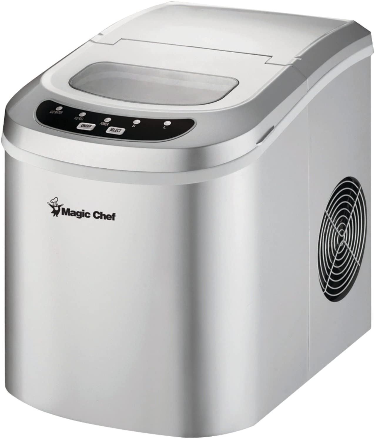 Magic Chef 27-Lb Portable Countertop Ice Maker Reviews 1