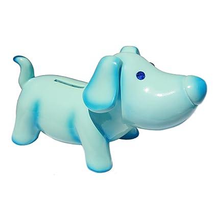 Amazoncom 7 Jewel Eye Puppy Bankblue Toys Games