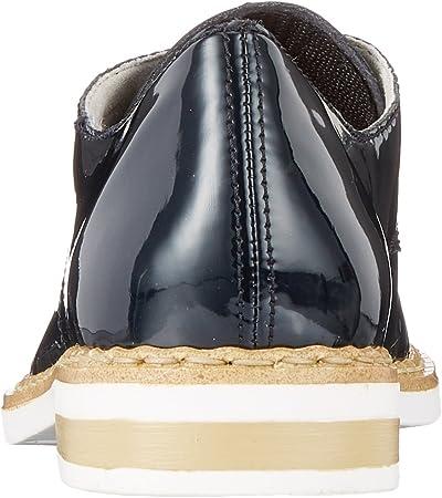 Rieker N0413, Zapatos de Cordones Derby para Mujer
