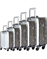 """BlueCosto (Clear PVC) Travel Luggage Protector Suitcase Covers 20""""22""""24""""26""""28"""""""