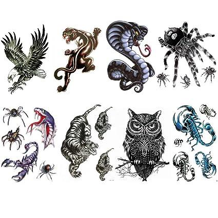 Tatuajes Temporales Animales e Insectos/Alta Definición/El Lot de ...