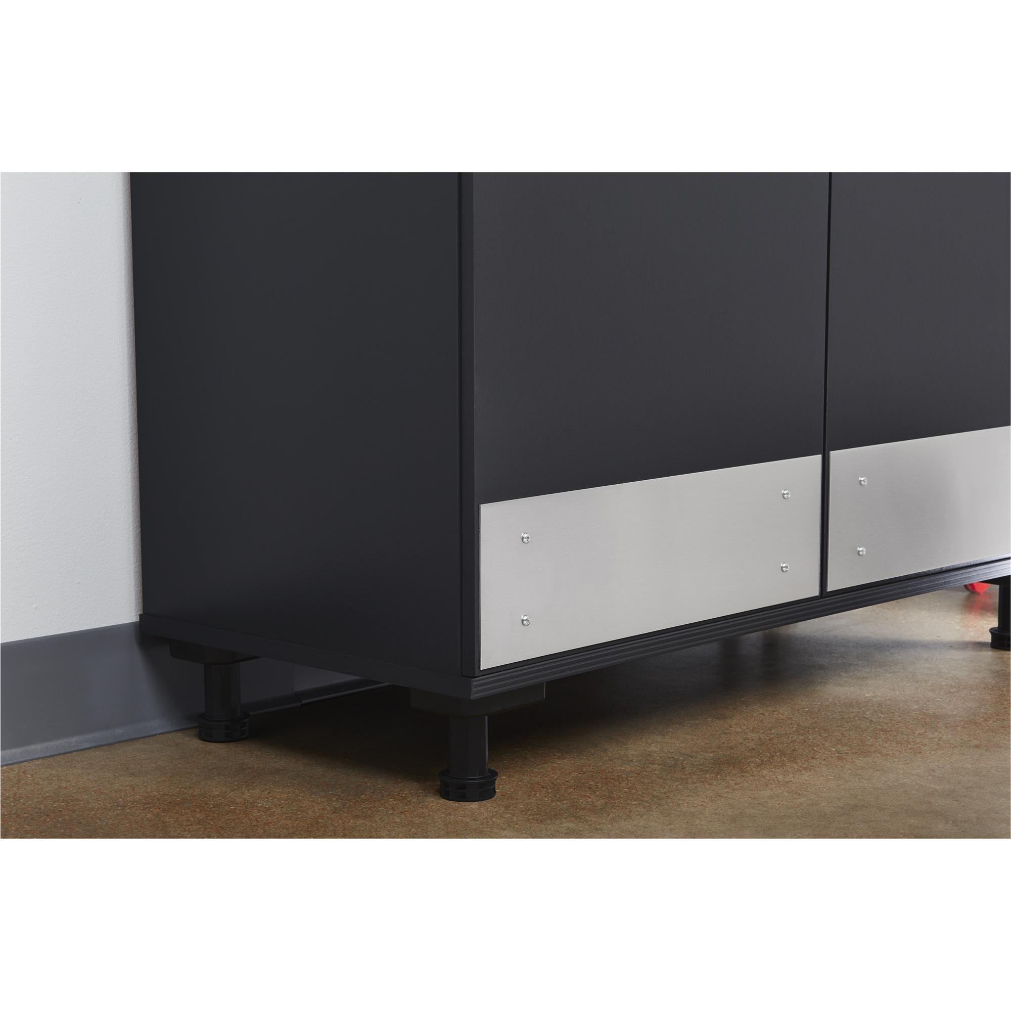 Ameriwood Home Boss -Base Cabinet 2 Door, Charcoal Gray by Ameriwood Home (Image #13)