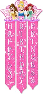 Disney Princess Royal Event Birthday Banner