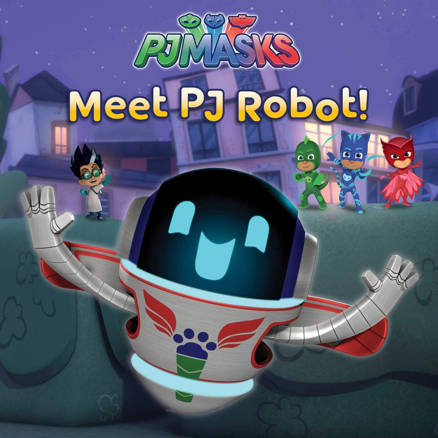 Amazon.com: Meet PJ Robot! (PJ Masks) (9781534430266): Natalie Shaw: Books