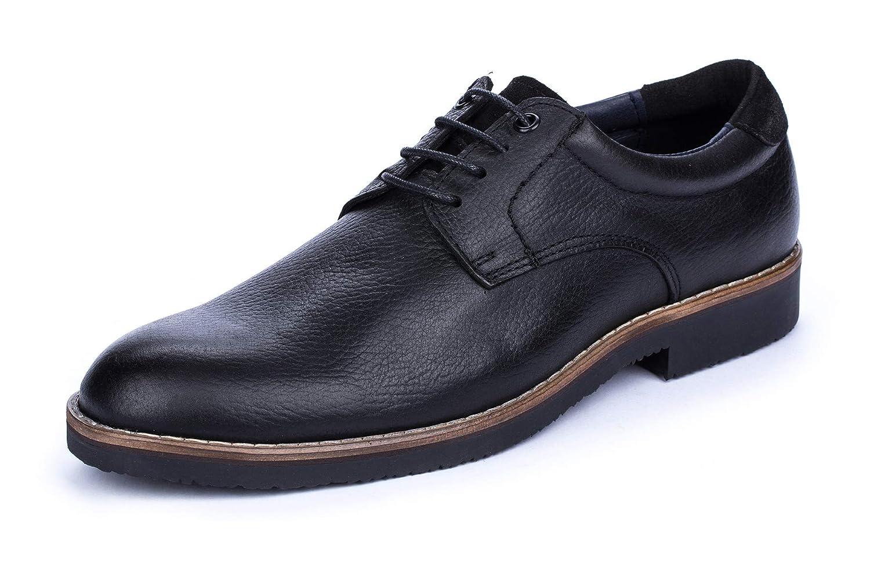 DCalderoni Veleta Negro Zapatos De Vestir con Cordones para Hombre 40-50 EU