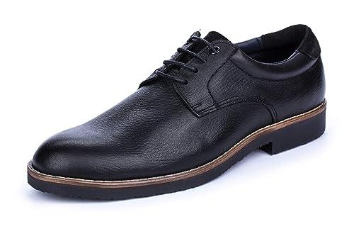 DCalderoni Veleta Negro Zapatos De Vestir con Cordones para Hombre 40-50 EU: Amazon.es: Zapatos y complementos