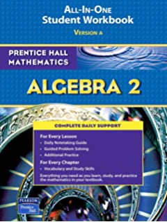 Amazon prentice hall math algebra 2 student edition prentice hall math algebra 2 student workbook 2007 prentice hall mathematics fandeluxe Choice Image
