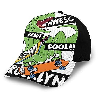 Fabulous_Woo Gorra de béisbol Dinosaur Ing Unisex para Hombre y ...