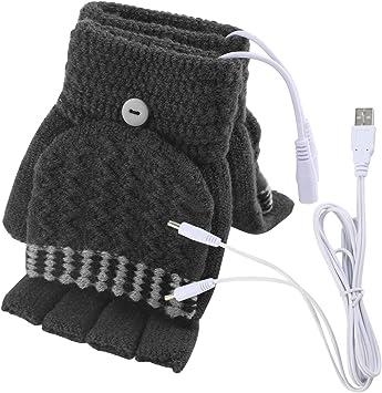 Portable tous les doigts CHAUFFE-MAIN chauffage électrique Chauffée Hiver Gant Chauffant USB
