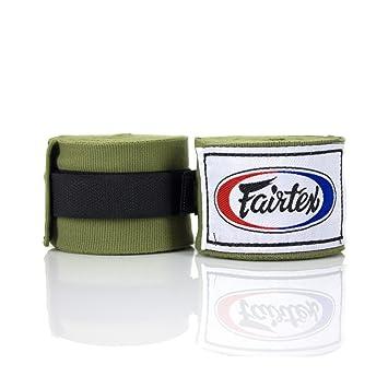 Fairtex Blue 4.5m Stretch Muay Thai Hand Wraps