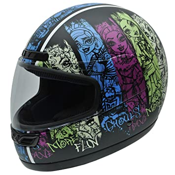 NZI Class Grunge by Monster High Casco de Moto, Dibujos y Logotipos Monster High,