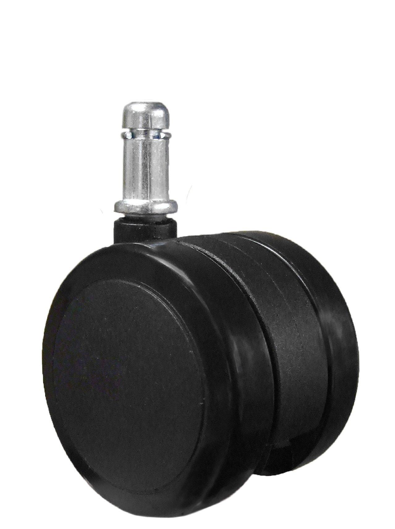 chairpartsonline Soft Caster Wheel Hardwood Floors - 5 Casters Compatible Herman Miller Aeron
