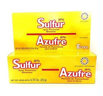 Grisi Sulfur Acne Treatment Ointment, 0.7 oz - Walmart.com