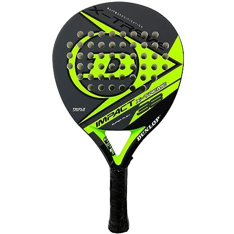 Dunlop Pala de pádel Impact X-Treme Yellow: Amazon.es: Deportes y ...