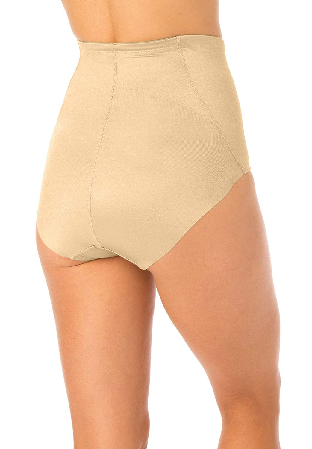 Secret Solutions Womens Plus Size High Waist Shaping Brief