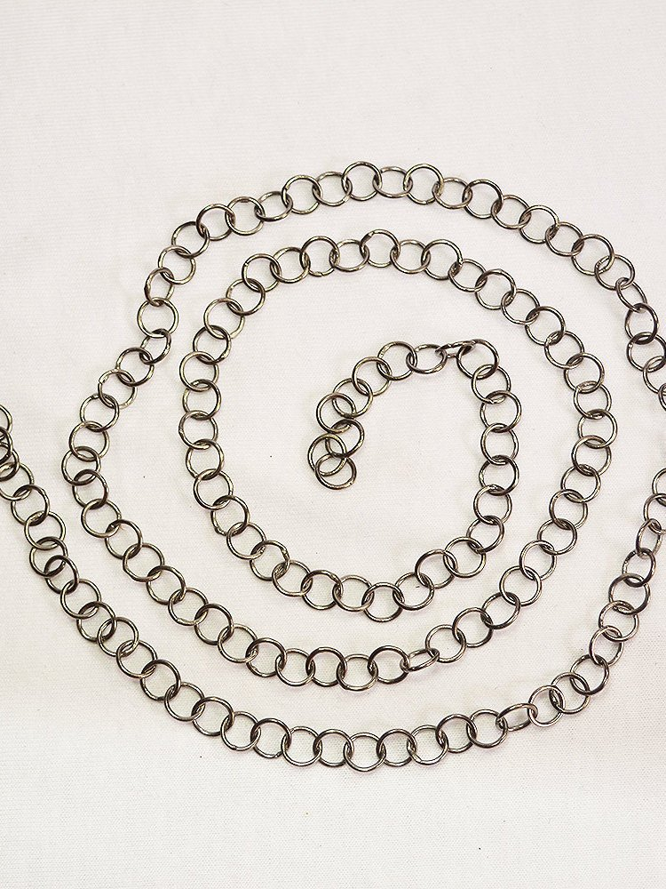 Handmade Silver Chain. 92.5 Sterling Silver Very Beautiful Making Chain Necklace, Silver Chain Necklace For women's