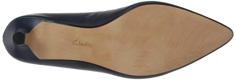 CLARKS Women's Linvale W Jerica Pump B078GCTKLB 060 W Linvale US|Navy Leather 66c0ac
