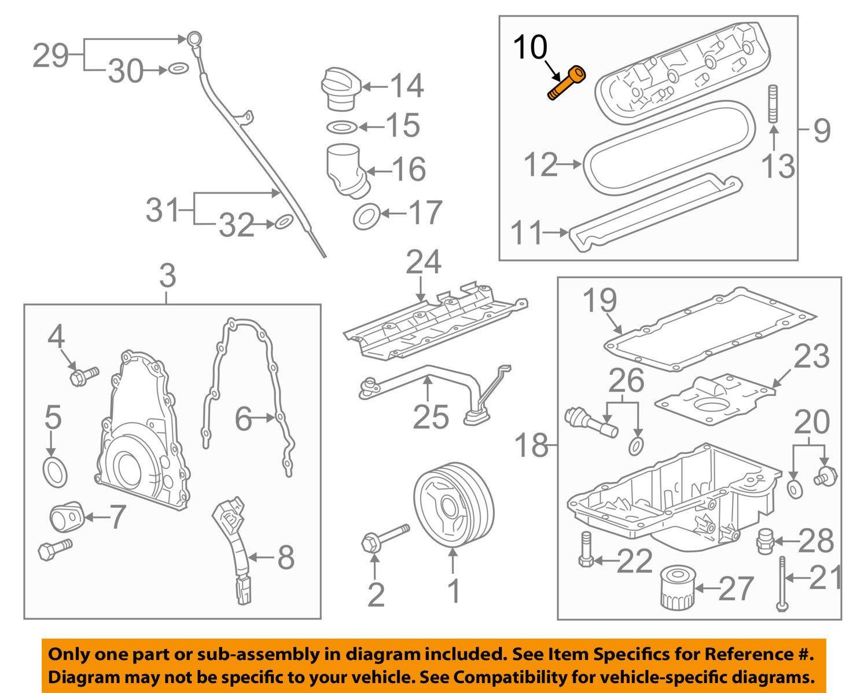 Amazon.com: General Motors 12577215, Engine Valve Cover Grommet: Automotive