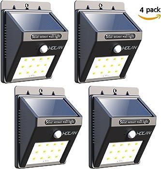 4-Pack Iextreme 12-LED Motion Sensor Wall Light