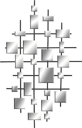 Deco 79 66604 Metal Mirror Wall Decor