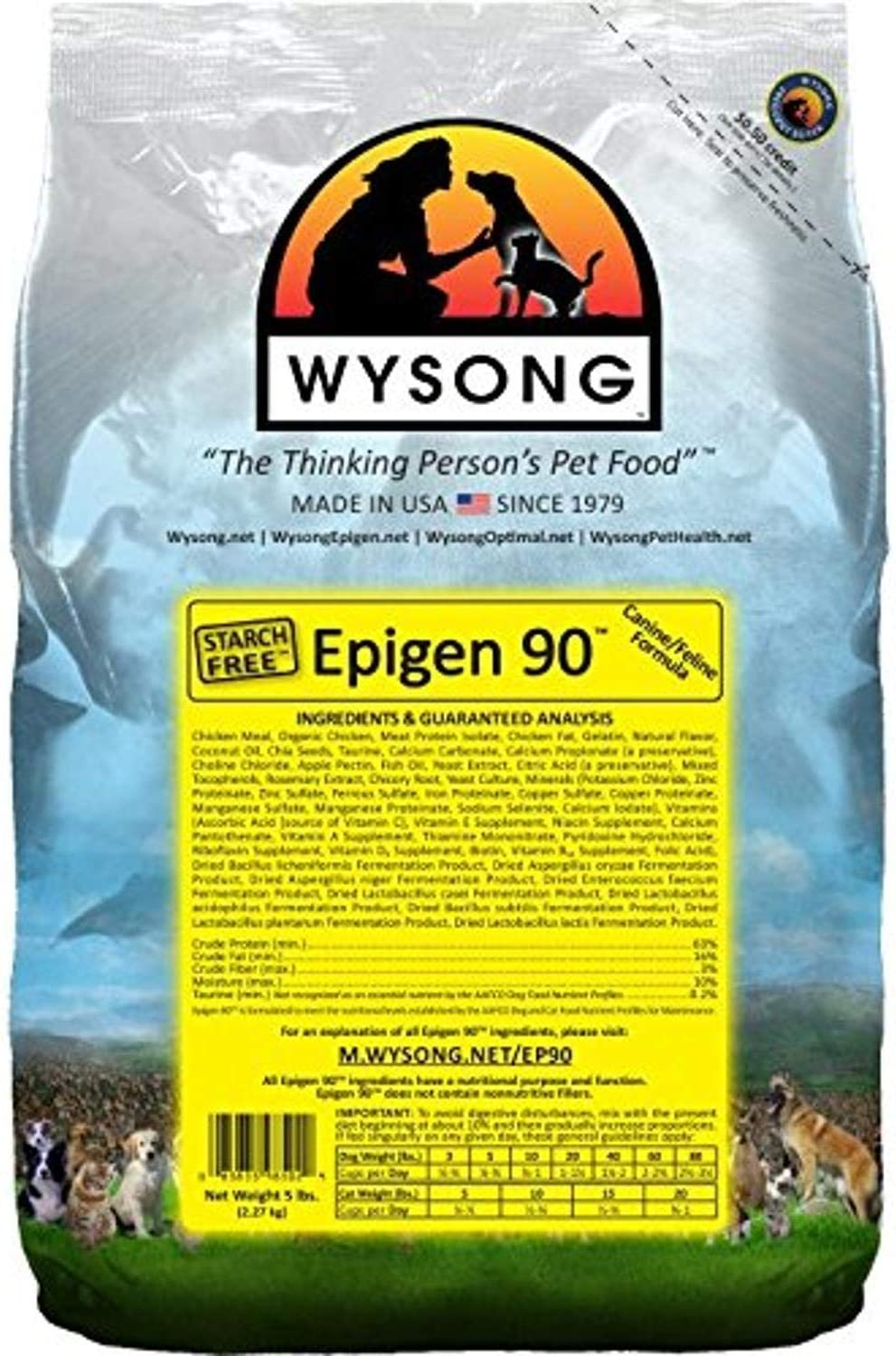 Wysong Epigen 90 Canine/Feline Dry Diet - Dog/Cat Food