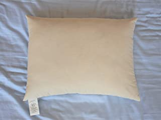 product image for White Lotus Home KSP02 Kapok Sleep Pillow with Organic Sateen Outer Case, 20x26-Standard Medium, Natural