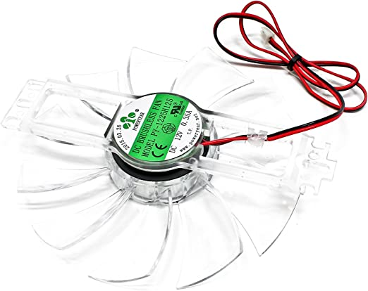WilTec Ventilador de Repuesto para Mini-incubadora automática de Huevos Cría Aves Gallinas Pollos Patos: Amazon.es: Productos para mascotas