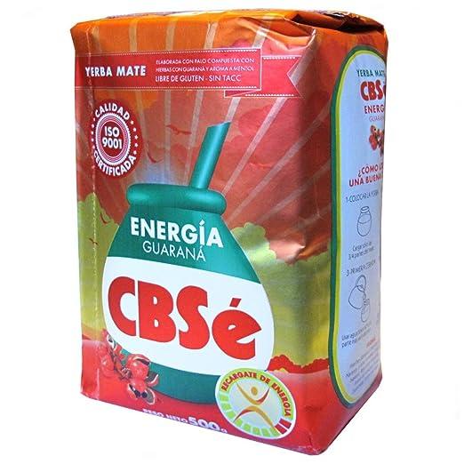 2 opinioni per Yerba Mate CBSE Guarana Energia 500 gr