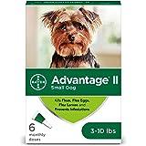 Tratamiento tópico contra pulgas de perros Bayer Advantage II, Verde