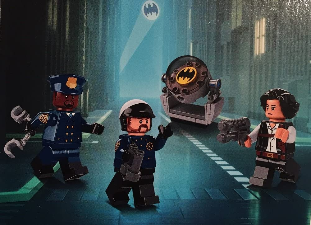 Lego Super Heroes GCPD Officer 2 sh401 From 853651 Batman Movie Minifigure New