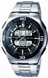 CASIO Collection AQ-164WD-1AVEF - Reloj analógico y digital de cuarzo con correa