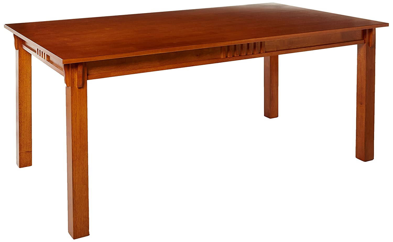 Marbrisa Rectangular Dining Table Sienna Brown