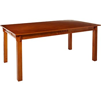 Amazon Com Coaster 100621 Mission Style Dining Table