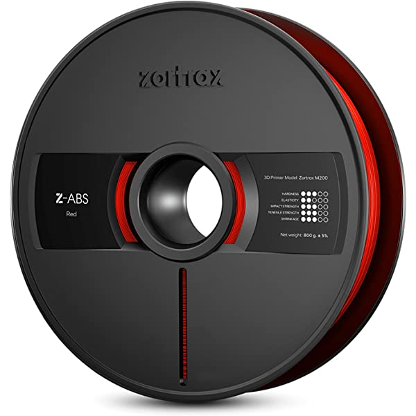 Zortrax Z-ABS M200 filamento para 3D-Impresora Negro: Amazon ...