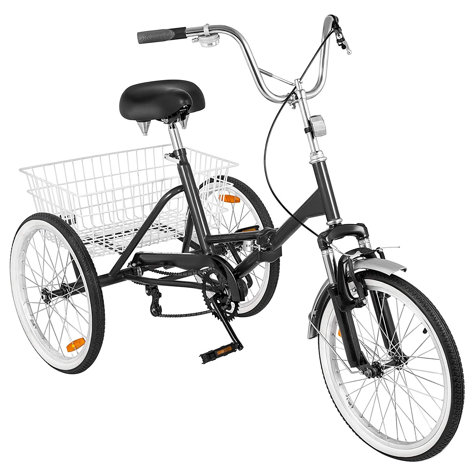 Associated product image for VEVOR 20 Inch Adult Tricycle