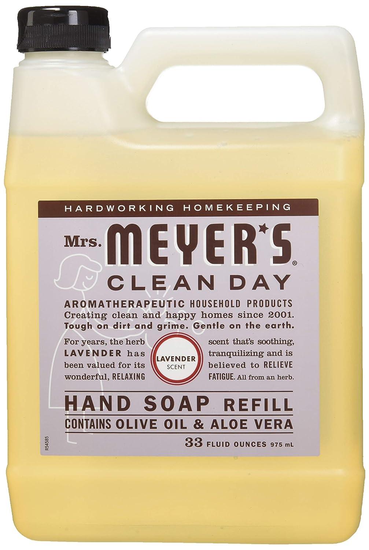 Mrs. Meyer's Liquid Hand Soap Refill, Lemon Verbena, 33 Fluid Ounce Mrs. Meyer's 0808124121638