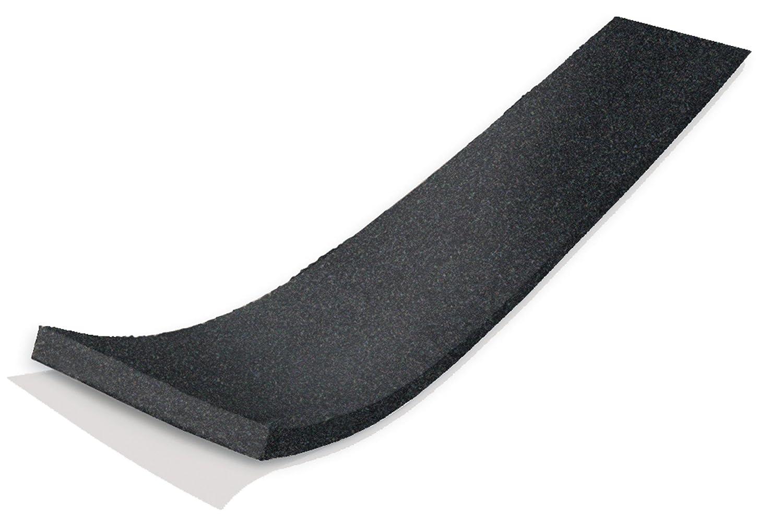 WJ Dennis & Company 267 Premium Home & Auto Super Firm Sponge-Rubber Foam Tape, 1-1/4-Inch x 3/16-Inch x 30-Foot, Sponge-Rubber, Black