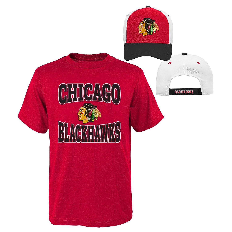 殿堂 (Chicago Blackhawks, Xl(18)) B01LXWOWY1 Xl(18)) - NHL Boys Youth Boys 8-20 Tee & Hat Set B01LXWOWY1, 輸入ビールと洋酒のやまいち:b31c3dc7 --- a0267596.xsph.ru