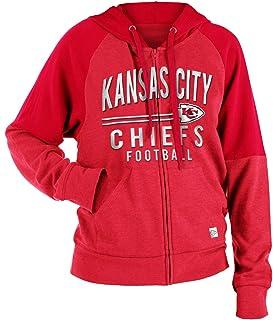 4426ff03d New Era Kansas City Chiefs Women s Tri-Blend Fleece Zip Up Hooded Sweatshirt