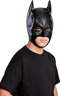 Rubies The Dark Knight Rises: Batman 3/4 Mask, Child Size (Black