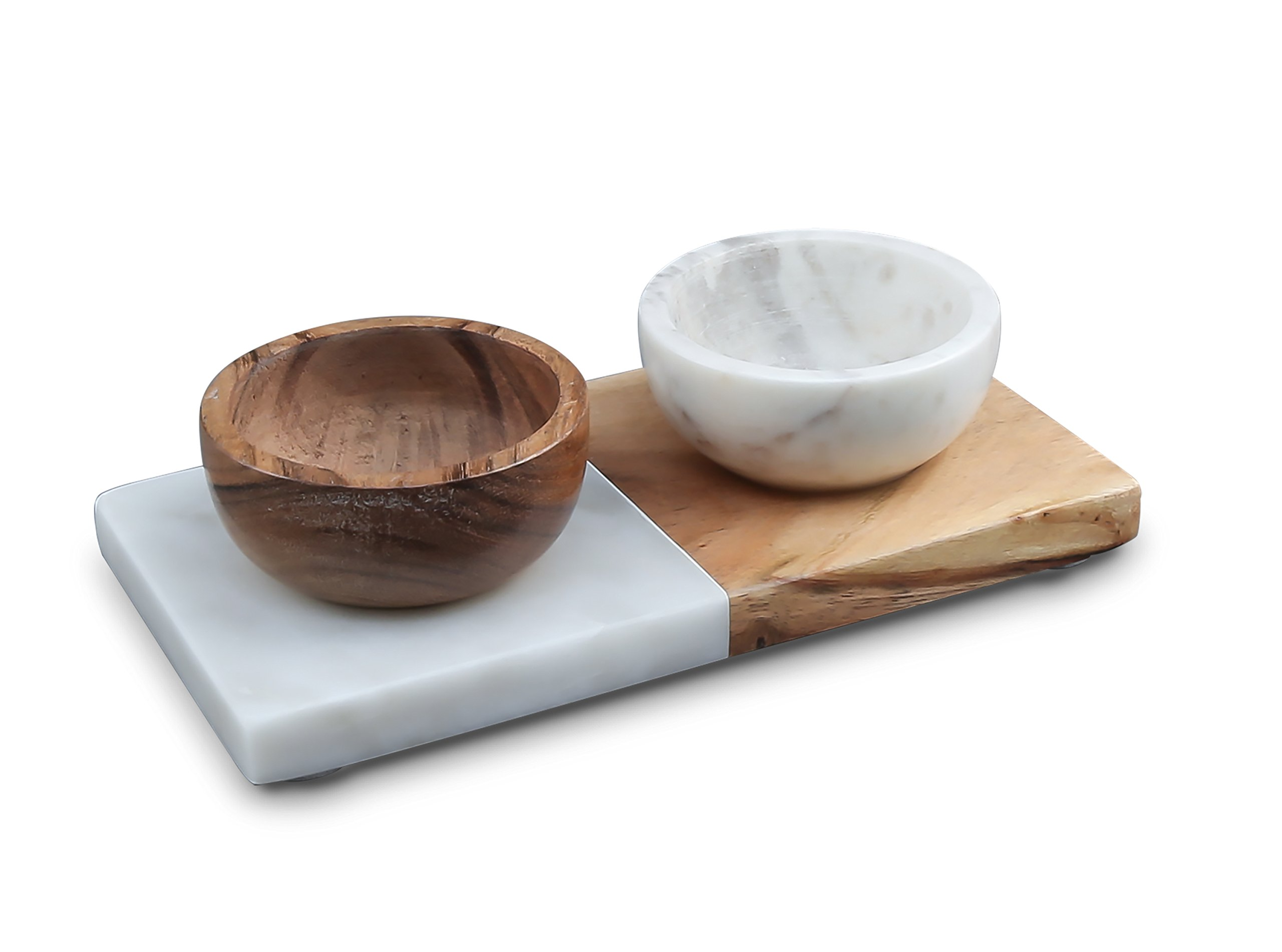 Thirstystone NMCGT31 Condiment Set One Size White