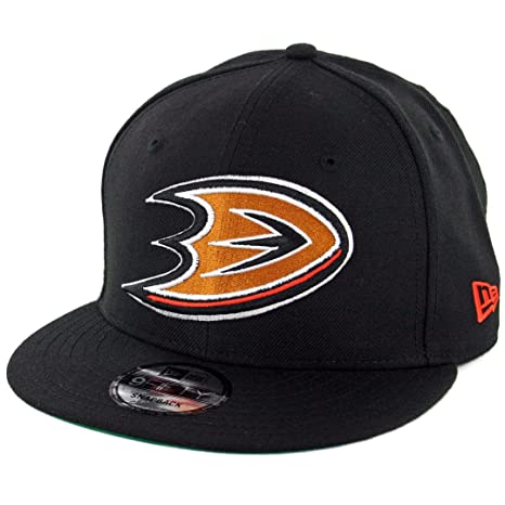 info for b2ccf f6695 Amazon.com   New Era 9Fifty Anaheim Mighty Ducks Snapback Hat (Black) Men s  NHL Cap   Sports   Outdoors