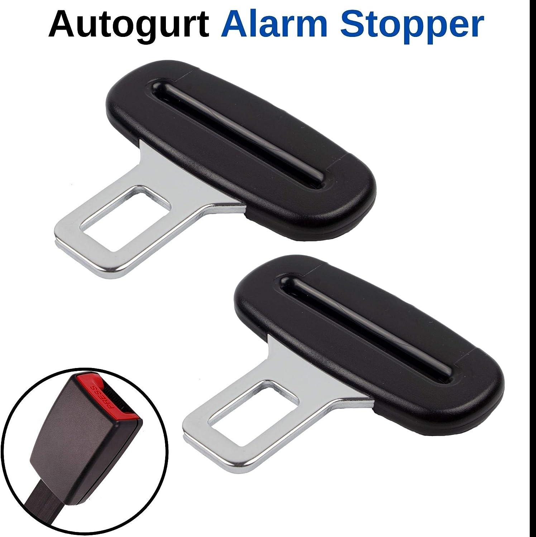 Allarme cinture di sicurezza disattivato per tutte le marche di auto fibbia di inserimento di 3,15 mm di spessore adattatore per cinture di sicurezza disattiva lallarme cinture di sicurezza