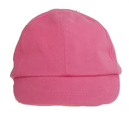 4e805dec9cf0 1 Casquette - Chapeau - bébé - Fille - uni - Rose ou Vert - Taille ...