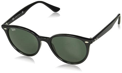 Amazon.com: Ray-Ban RB4305 - Gafas de sol redondas, Negro ...